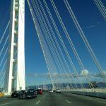 Oakland und Bay Bridge