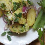 Frühkartoffelsalat für Faule