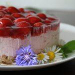 Erdbeertorte – rosa-roter Mädchentraum + Tricktipps Tortenring, Energy Bites