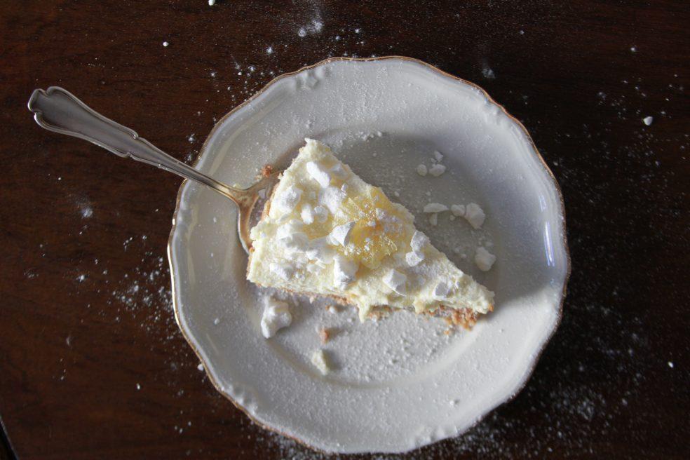 Zitronencheesecake Rezept