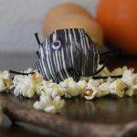 Halloween für Eilige: Spinnen und Popcorn