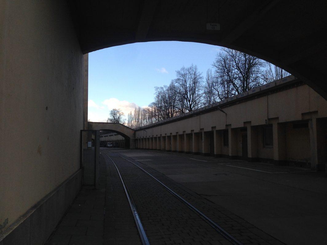 Notunterkunft Tempelhofer Flughafen