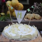Zitronengeburtstagsparty für Minke