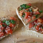 "60 sek. Abendbrot + Tricks – Teil 3: Bruschetta oder auch ""lecker Tomatenbrot"""